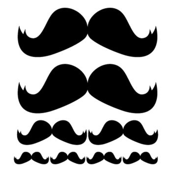 Kit stickers Moustaches