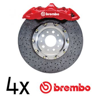 Brembo logo brake decals set