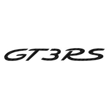 Porsche 911 GT3 RS logo Carbon Decal 2