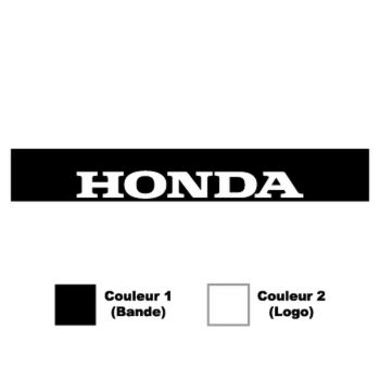 Honda Sunstrip Sticker