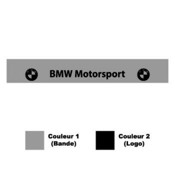 BMW Motorsport logo Sunstrip Sticker