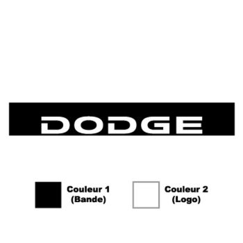 Dodge Sunstrip Sticker
