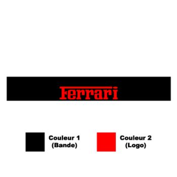 Ferrari Sunstrip Sticker
