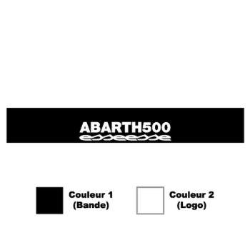 Fiat Abarth 500 Esseesse Sunstrip Sticker