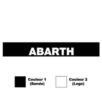 Fiat Abarth Sunstrip Sticker