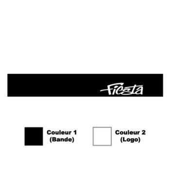 Sticker Bande Pare-Soleil Ford Fiesta