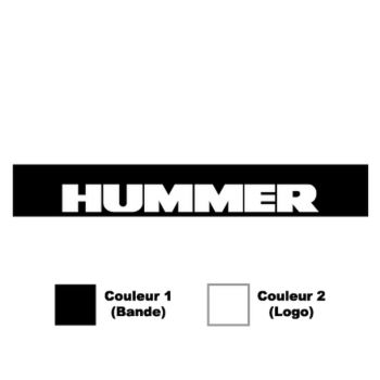 Hummer Sunstrip Sticker