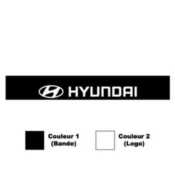 Sticker Bande Pare-Soleil Hyundai