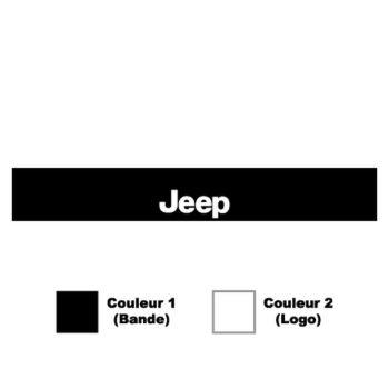 Jeep Sunstrip Sticker