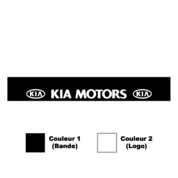 Kia Motors Sunstrip Sticker