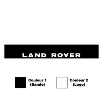 Sticker Bande Pare-Soleil Land Rover