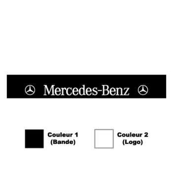 Mercedes Sunstrip Sticker