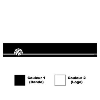 Sticker Bande Pare-Soleil MG