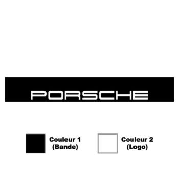 Porsche Sunstrip Sticker