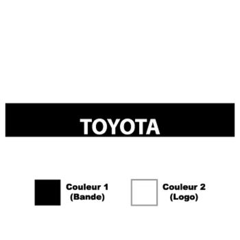 Toyota Sunstrip Sticker