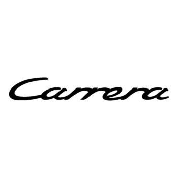 Porsche Carrera logo Decal