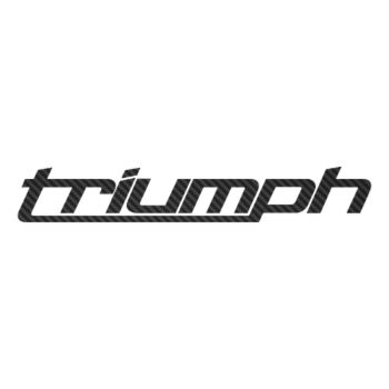 Sticker Carbone Triumph Logo 6