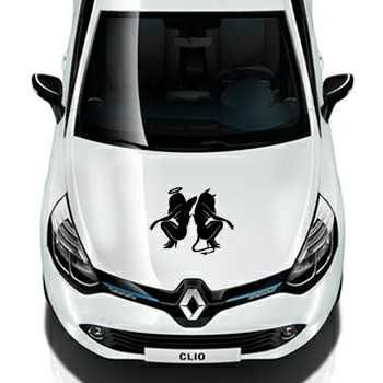 Angel and Devil Renault Decal