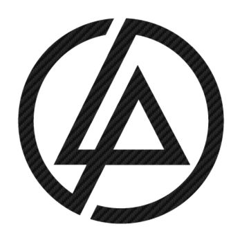Sticker Carbone Linkin Park Logo