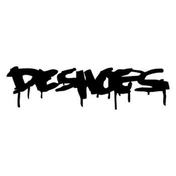 DC Shoes Graffiti logo Decal