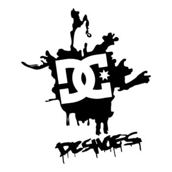 Sticker DC Shoes Splash Logo