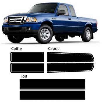 Kit Stickers Bandes Ford Ranger