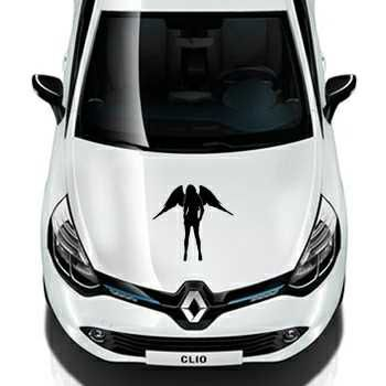 Sexy Woman Angel Renault Decal