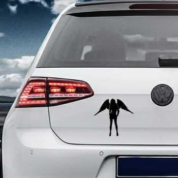 Sexy Woman Angel Volkswagen MK Golf Decal