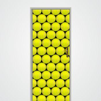Sticker Déco Porte Balles de Tennis