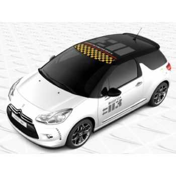 Sticker Deco Toit Citroën DS3 Logo D3