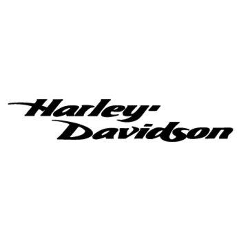 Sticker Harley Davidson Moto Logo italique ★