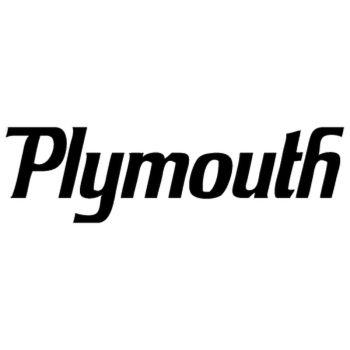 Plymouth auto logo Decal