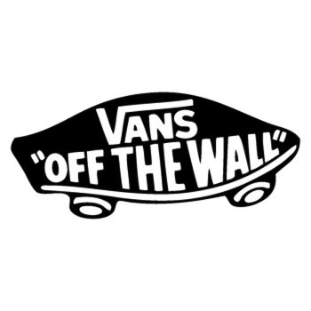 Vans off the wall logo Decal