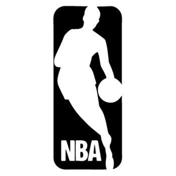 NBA logo Decal