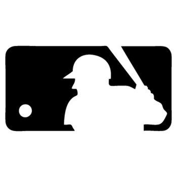MLB logo Decal