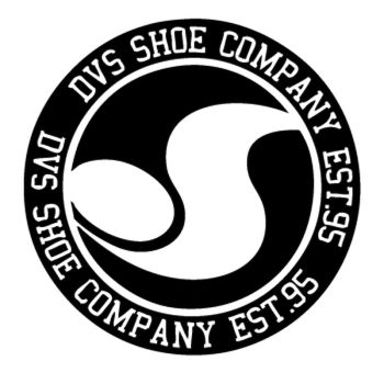 DVS Skateboard logo Decal