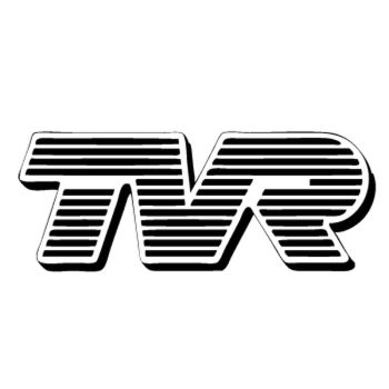TVR auto logo Decal