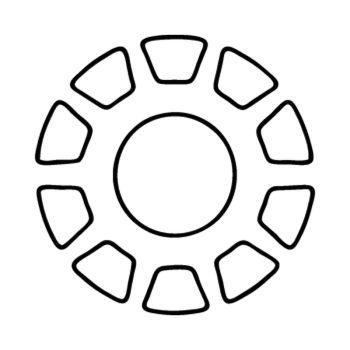 Ironman logo Decal