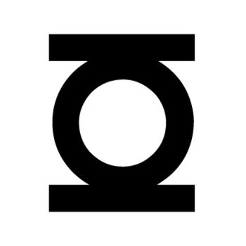 Sticker Green lantern Logo