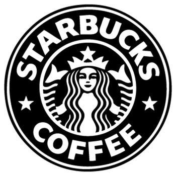 Sticker Starbucks Logo