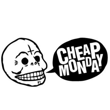 Cheap monday logo Decal