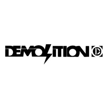 Sticker Demolition BMX Logo