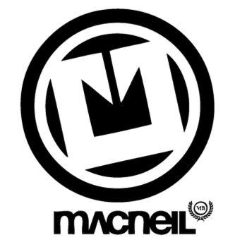 Sticker Macneil BMX Logo