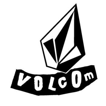 Sticker Volcom Logo