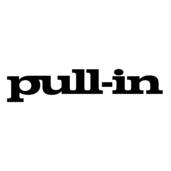 Pull-in logo Decal