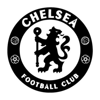 Sticker Chelsea logo