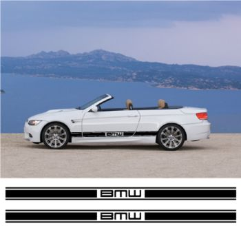 BMW car side racing Decals set