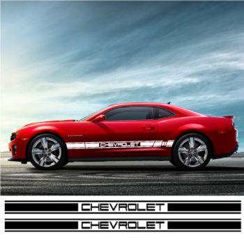 Kit Stickers Bande Seitenleiste Chevrolet Racing