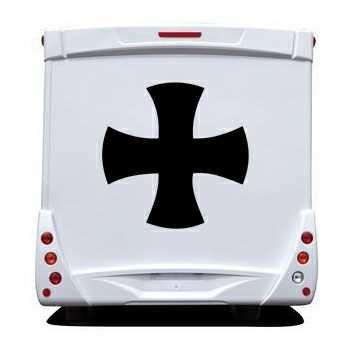 Sticker Camping Car Croix Celtique
