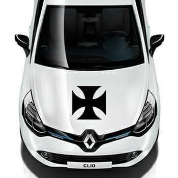 Sticker Renault Croix de Malte